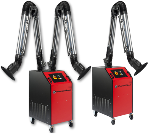 MasterWeld Welding Fume Extractors with Heavy Duty Arms